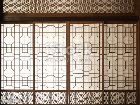Traditional Japanese House Shoji