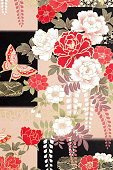 istock Traditional Japanese pattern 1056988174