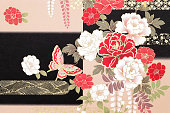 istock Traditional Japanese pattern 1056988176