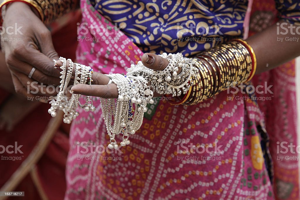 traditional jewelry royalty-free stock photo