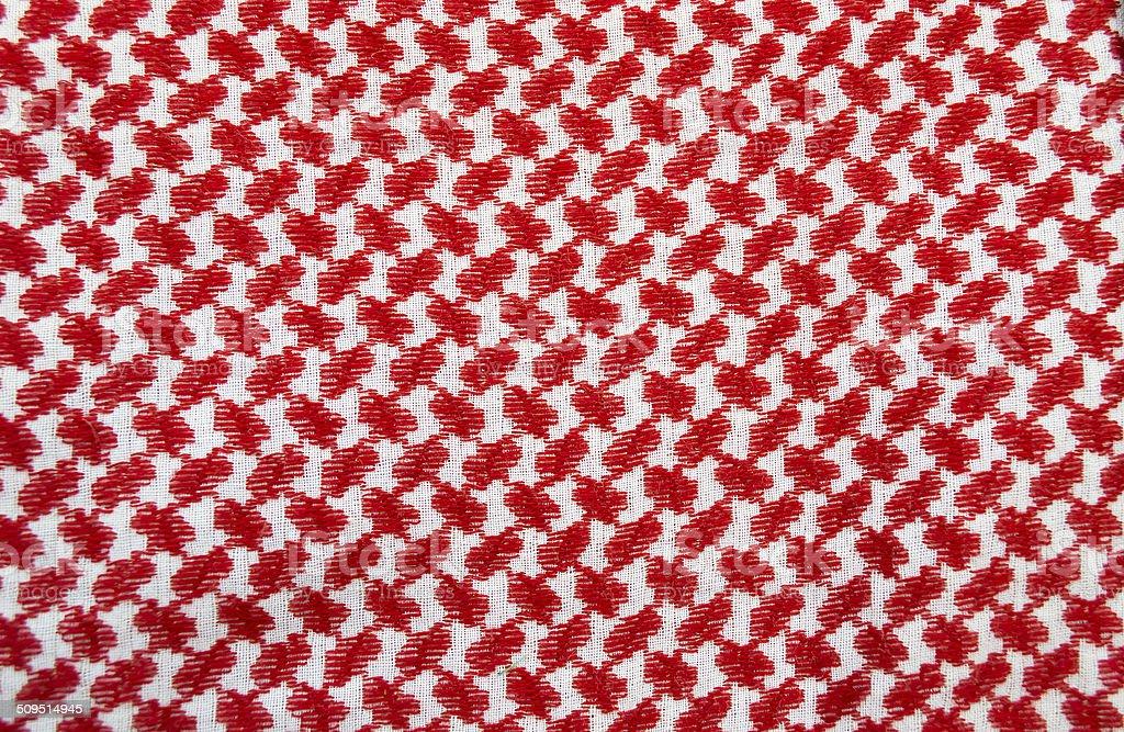 Traditional jordanian headkerchief stock photo
