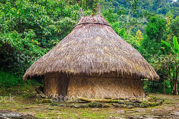 Traditional kogi hut in sierra nevada de santa marta colombia picture id501625816?b=1&k=6&m=501625816&s=612x612&h=lqnqo2nckuez68kokk4pfts58u0hjurggdfl6igz ha=