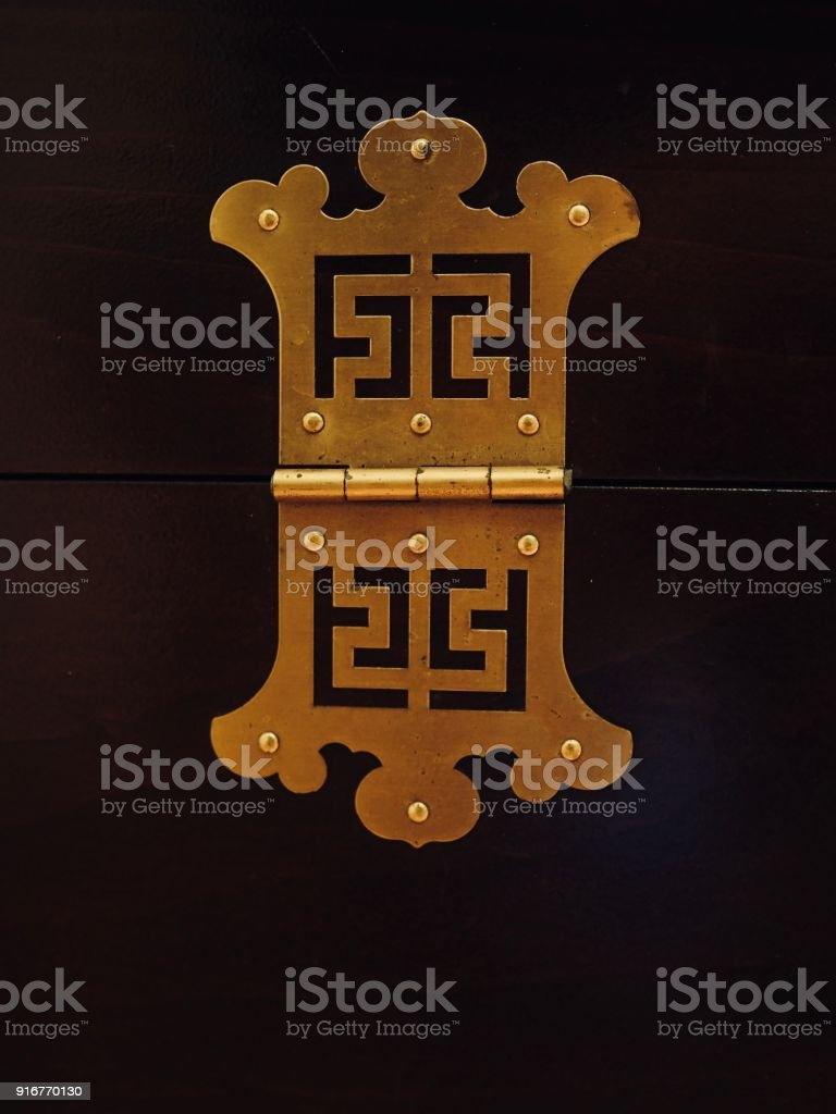 traditional korean furniture. Traditional Korean Furniture Royalty-free Stock Photo