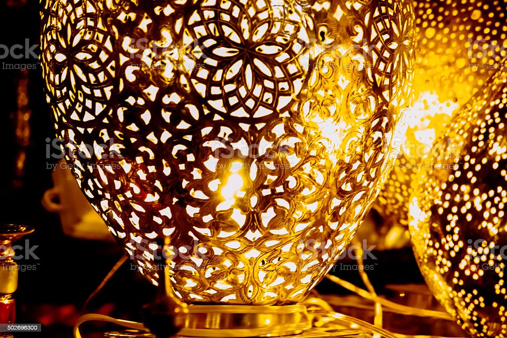 Traditional Lamp - Traditional Industry stock photo