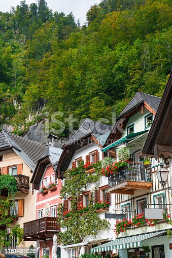 Austria, Europe, Hallstatt, Salzkammergut, Ancient