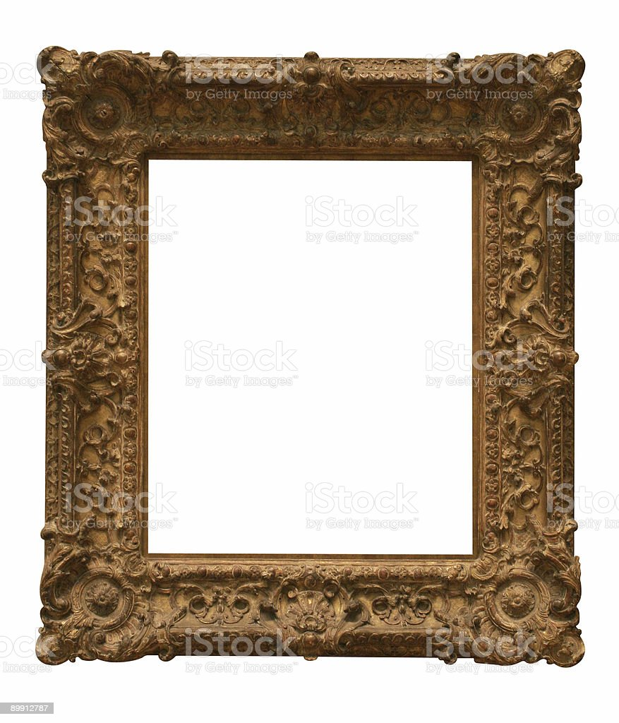 Traditional looking frame to use in your design royalty-free stock photo