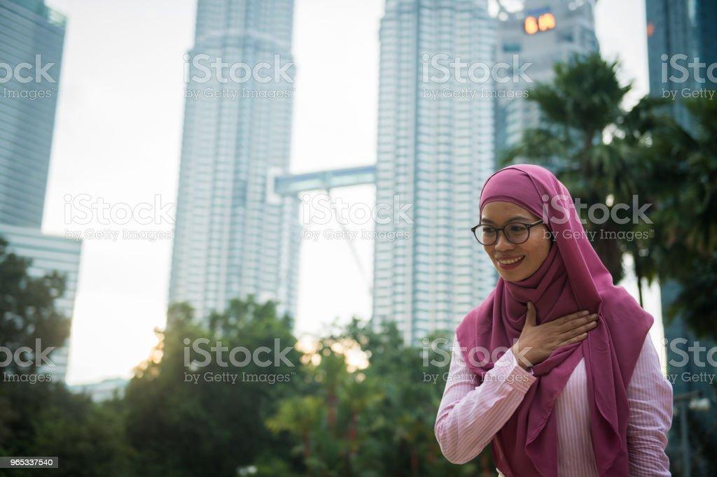 馬來西亞傳統商務問候語 - 免版稅30多歲圖庫照片