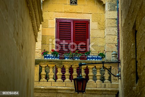 istock Traditional Maltese Architecture Malta Buildings Traditional Houses and Streets Tourism Concept Travel Background Exotic destinations 903264454