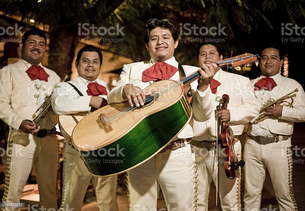 Traditional Mariachi Band stock photo