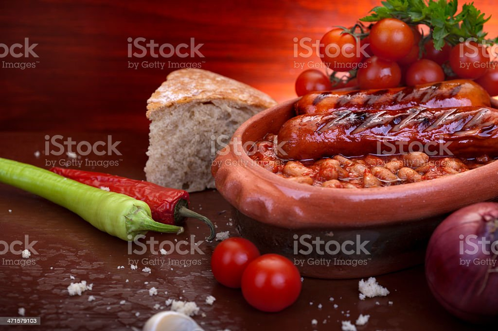 Traditional meal royalty-free stock photo