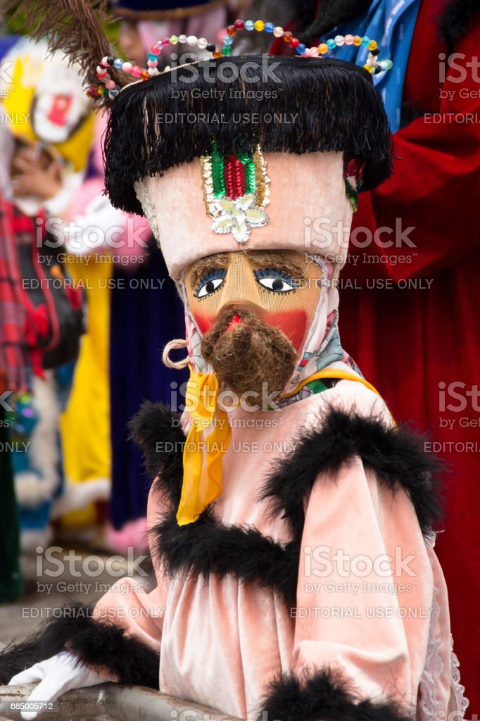 Traditional mexican costume stock photo