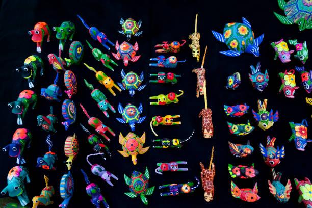 Juguetes mexicanos tradicionales - foto de stock