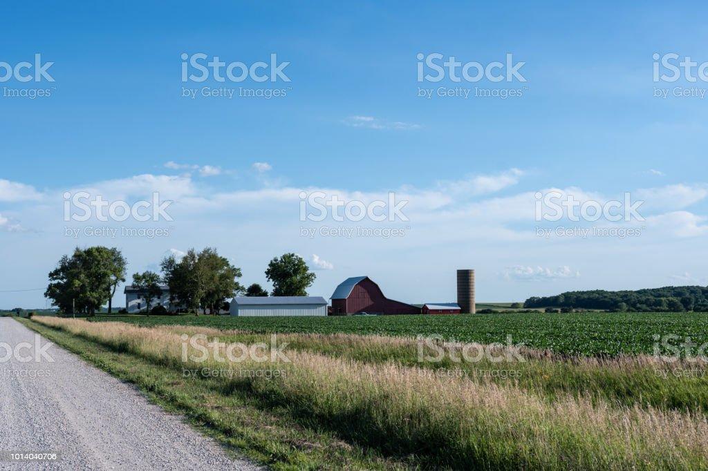 Geleneksel midwestern çiftlikte - Royalty-free ABD Stok görsel