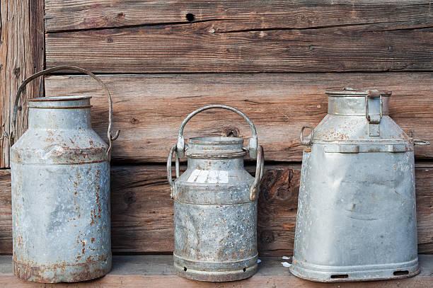 Traditionelle Milchkanne – Foto