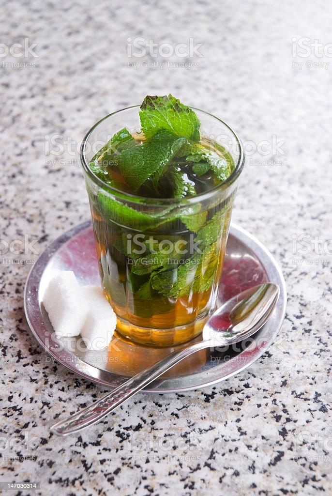 Traditional Mint Tea royalty-free stock photo