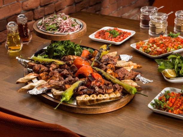 27 152 Turkish Kebab Stock Photos Pictures Royalty Free Images Istock