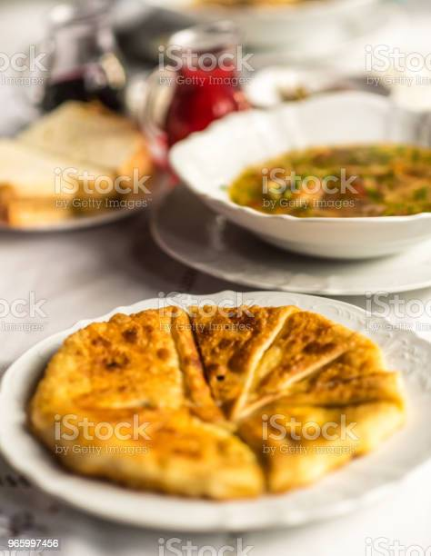 Traditional Moldovian Pastry Or Pie Called Placinta Stock Photo - Download Image Now