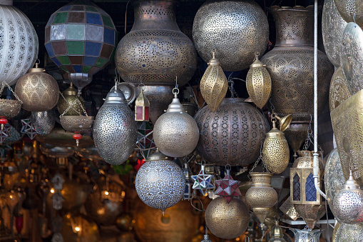 994119256 istock photo Traditional Moroccan crafted lamps 1164733545