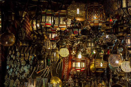 994119256 istock photo Traditional Moroccan lamps 930744272