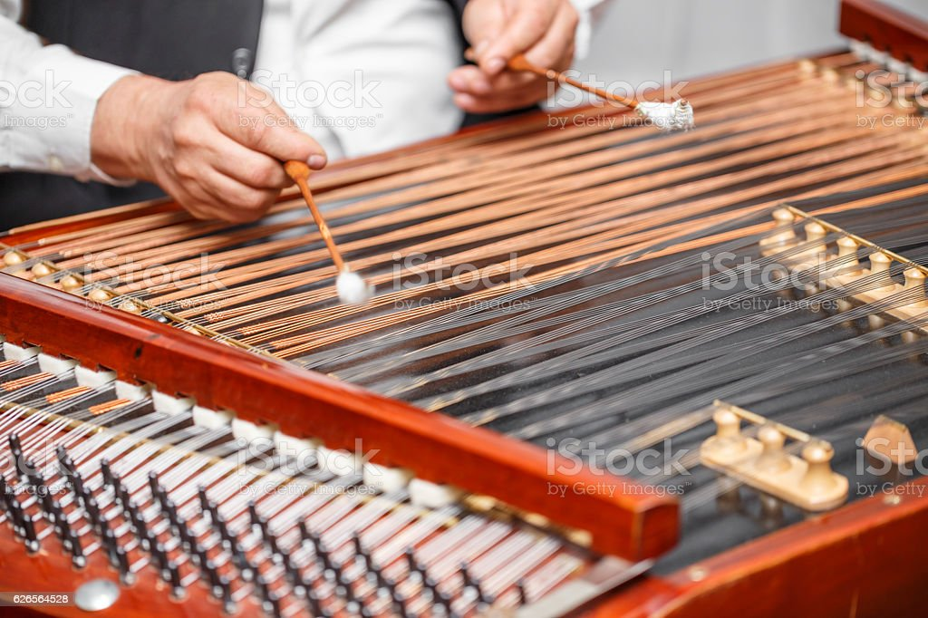 Traditional musical instrument stock photo