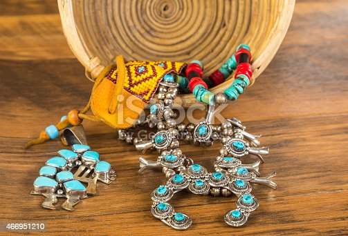 istock Traditional Native American Artifacts 466951210