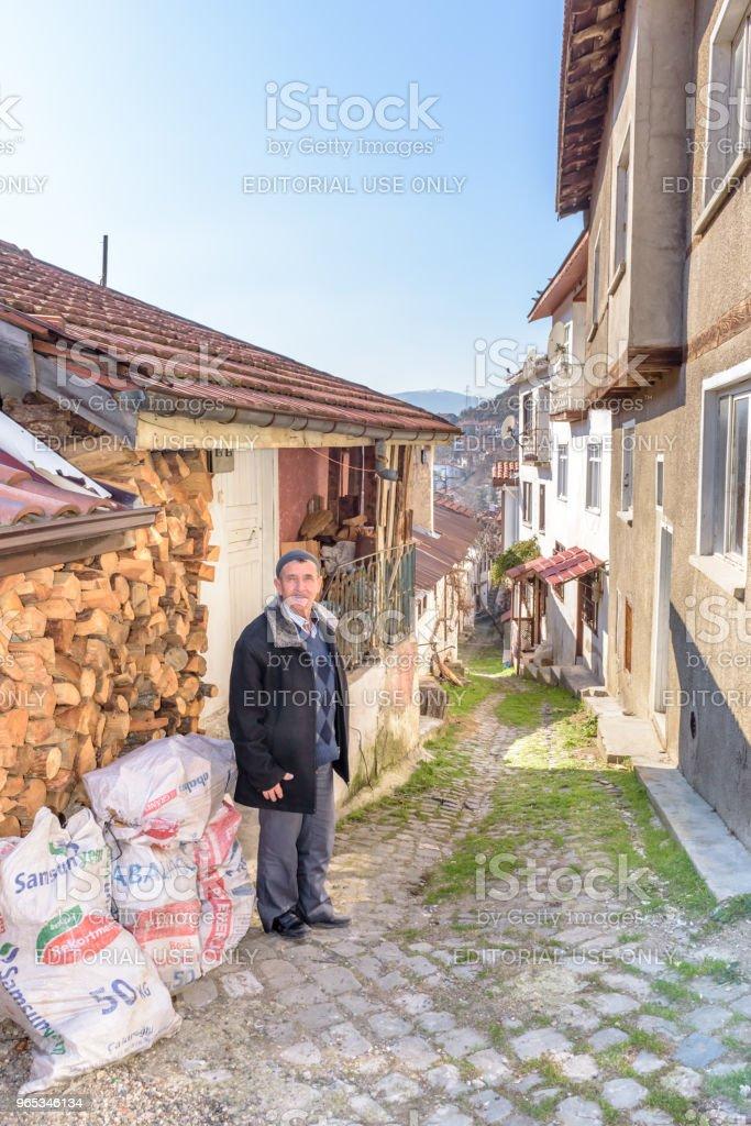 Tarakli에서, 오래 된 전통과 역사 아나톨리아 주택 - 로열티 프리 0명 스톡 사진
