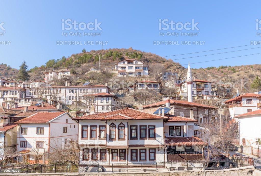 Tradycyjne, stare i historyczne domy Anatolii w Tarakli - Zbiór zdjęć royalty-free (Anatolia)