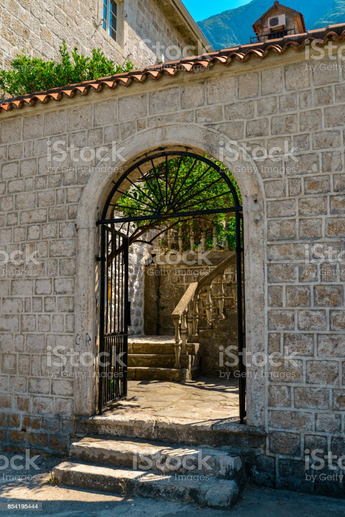 Traditional old mediterranean house stock photo