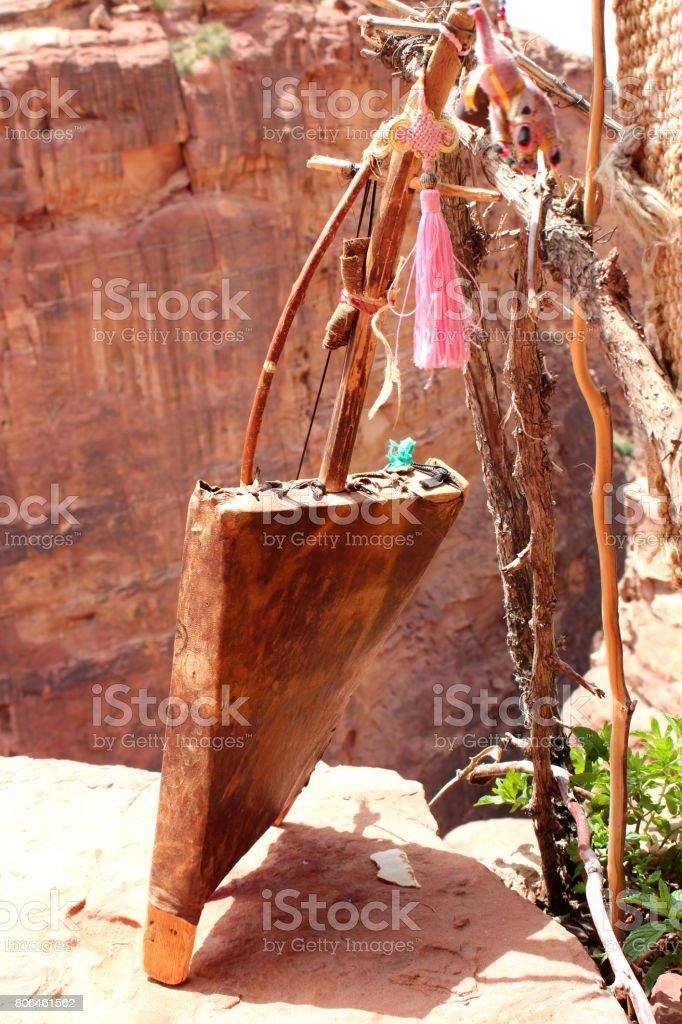 Traditionnel vieux oud à Pétra (Jordanie) - Photo