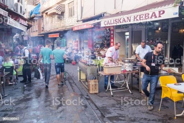 Traditionella Gamla Sten Gatorna I Gaziantep City Turkiet-foton och fler bilder på Anatolien