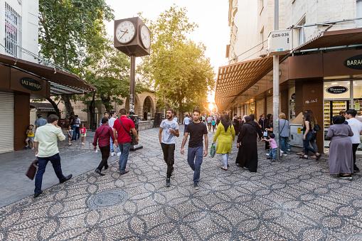 Traditional Old Stone Streets Of Gaziantep Cityturkey - Fotografias de stock e mais imagens de Anatólia