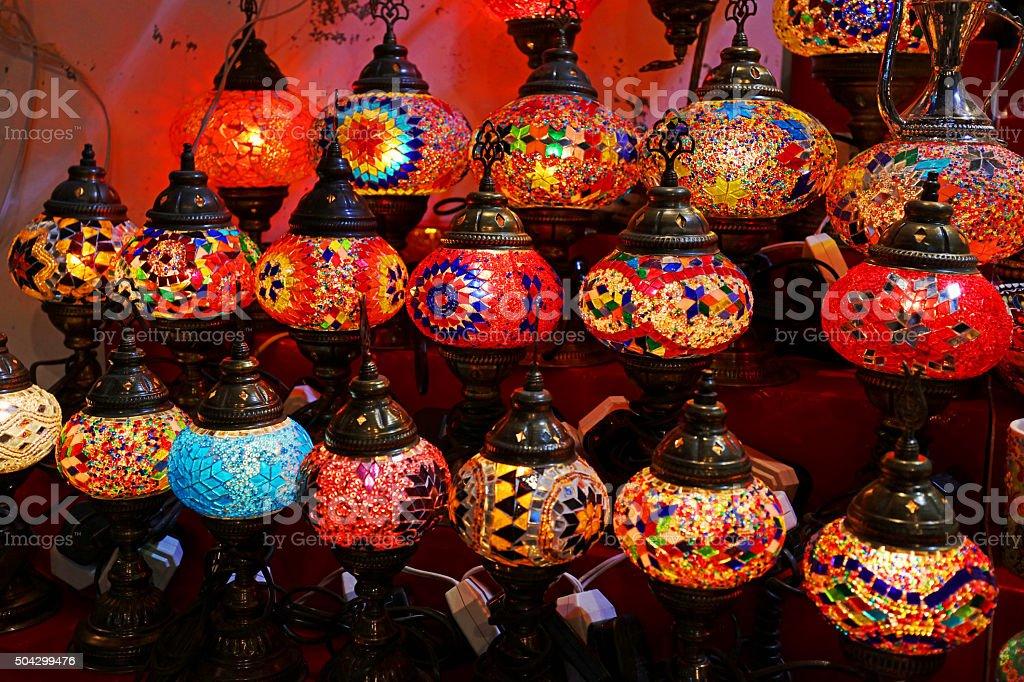 Traditionelle Orientalische Lampen Für Den Verkauf In Dubai Der