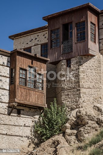 istock Traditional Ottoman Houses with Stone Walls 941093478