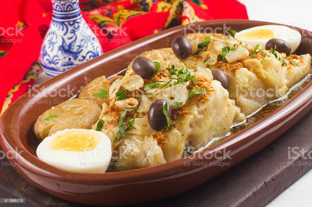 Traditional Portuguese Cod stock photo