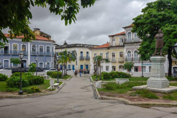 Traditionelle portugiesische Kolonialarchitektur in Sao Luis auf Brasilien – Foto