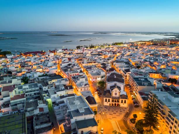 Traditionellen portugiesischen Dorf von Olhao, Algarve, Portugal – Foto