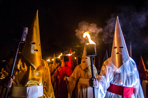 Traditional Procession In The City Of Goiás Velho Stock Photo - Download Image Now