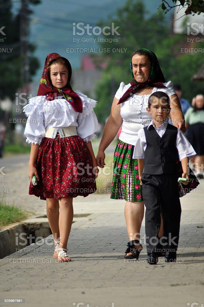 Traditional Romanian Wedding Dress