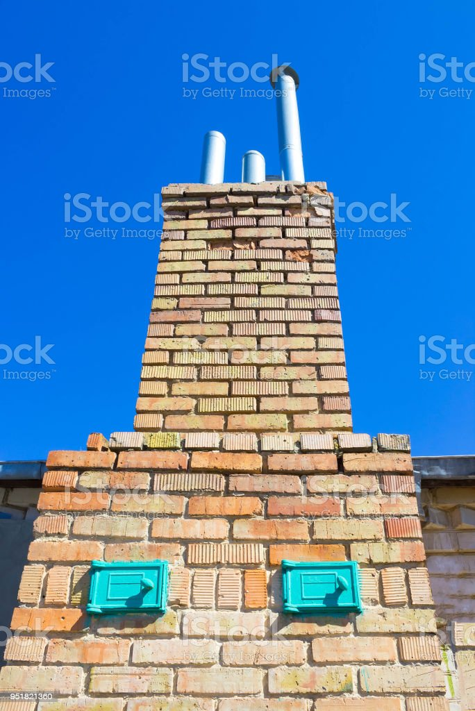 traditional Rural stove stock photo