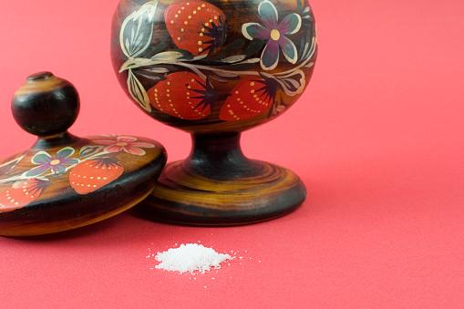 Traditional Saltsugar Jar Stock Photo - Download Image Now