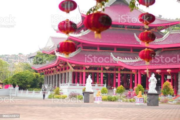 Traditional Sam Poe Koe Semarang Central Java Indonesia - Fotografias de stock e mais imagens de Construir