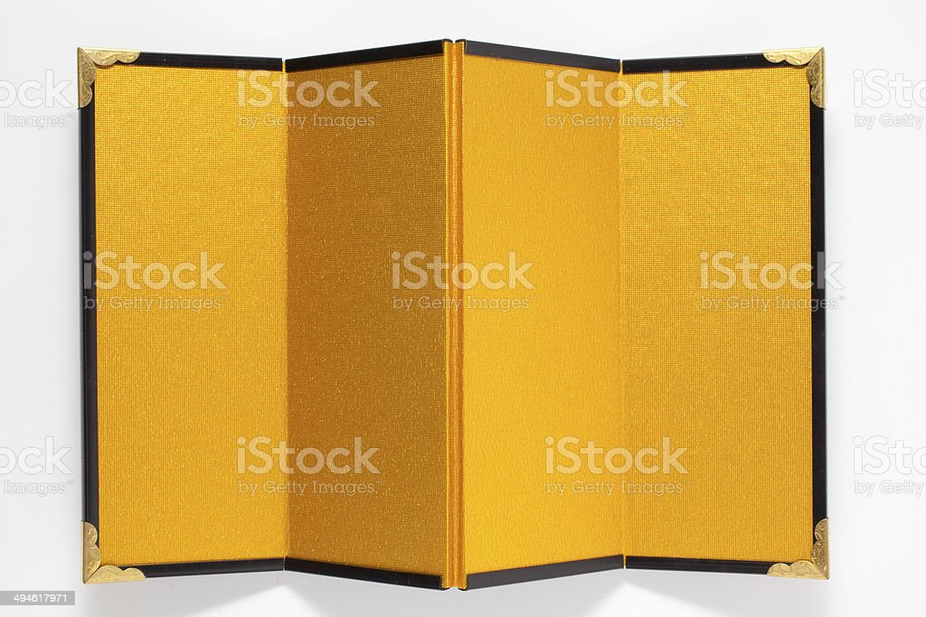 Traditional screen wall stock photo
