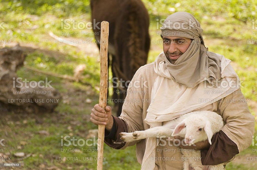 Traditional Shepherd stock photo