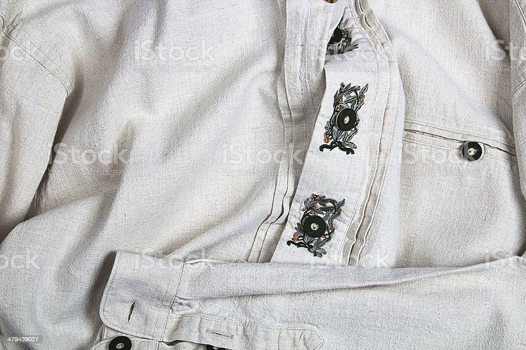 Traditional Shirt stock photo