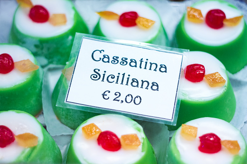 Traditional Sicilian Christmas Cassata Cakes Stock Photo Download Image Now Istock