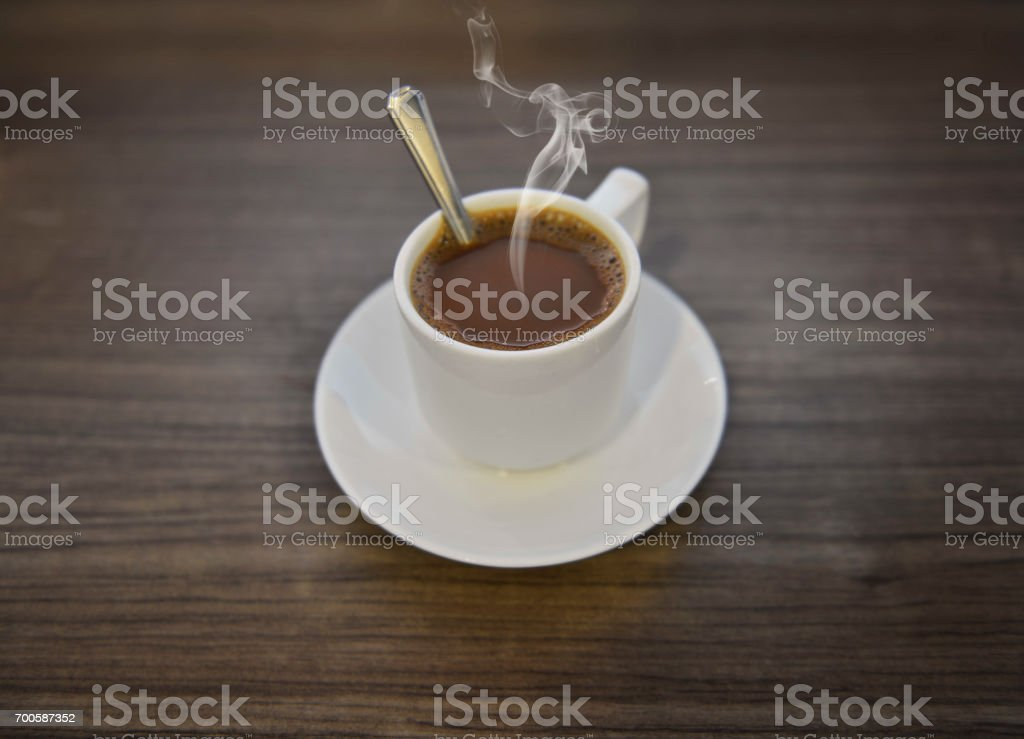 6f251a991e3 Traditional Singapore And Malaysia Kopitiam Style Milk Coffee In ...
