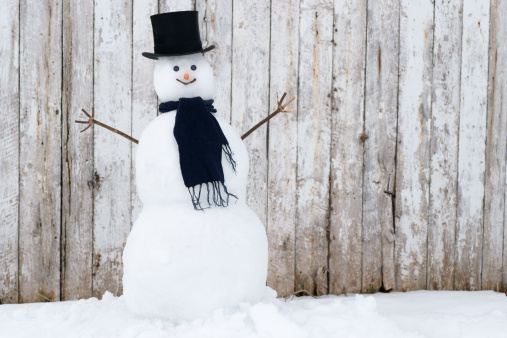 Traditional Snowman.