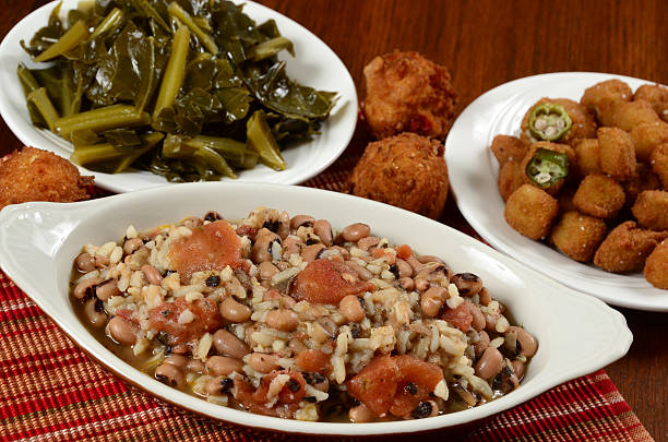 Traditional Southern Side Dishes stock photo