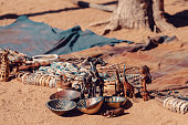 istock traditional souvenirs from himba peoples, Africa 1072382144