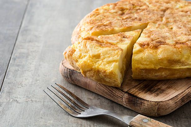 Traditional spanish omelette – Foto